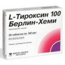 L-Тироксин 100 Берлин Хеми табл. 0.1 мг №50, Берлин-Хеми АГ/Менарини Групп
