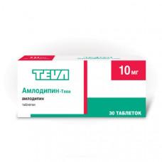 Амлодипин-Тева табл. 10 мг №30, Фармацевтический завод Тева Прайвэт Ко.Лтд