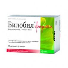 Билобил форте капс. 80 мг №60, КРКА д.д.