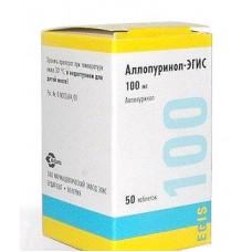 Аллопуринол-Эгис табл. 100 мг №50, Эгис АО фармацевтический завод