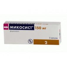 Микосист капс. 150 мг №2, Гедеон Рихтер А.О.