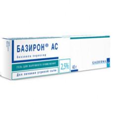 Базирон АС гель д/наружн. прим. 5% 40 г №1, Лаборатории Галдерма
