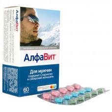 Алфавит для мужчин табл. 510 мг №60, Аквион, произведено Внешторг Фарма