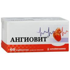 Ангиовит табл. п/о №60, Алтайвитамины ЗАО