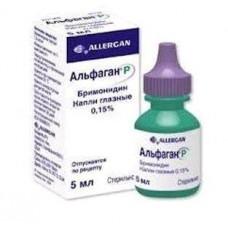 Альфаган Р капли глазн. 0.15% 5 мл №1, Аллерган Инк, произведено Аллерган  Сейлс  ЛЛС