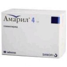 Амарил табл. 4 мг №90, Санофи-Авентис Дойчланд ГмбХ