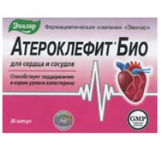 Атероклефит Био капс. 250 мг №30, Эвалар ЗАО