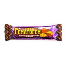 Гематоген Русский 40 г с изюмом в шоколадной глазури, ФАРМ-ПРО