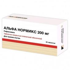 Альфа нормикс табл. п/о пленочной 200 мг №36, Альфа-Вассерманн С.п.А. / Альфасигма С.п.А.