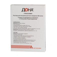 Дона р-р для в/м введ. 200 мг/мл 2 мл №6 ампулы, Роттафарм С.р.л.