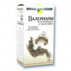 Валерианы корневища с корнями сырье 50 г №1, Фирма Здоровье ЗАО