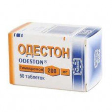 Одестон табл. 200 мг №50, Пабяницкий фармацевтический завод Польфа