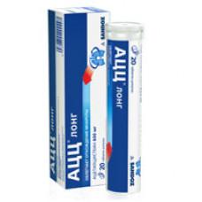 АЦЦ лонг табл. шип. 600 мг №10, Сандоз д.д., произведено Салютас Фарма ГмбХ