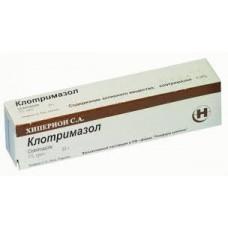 Клотримазол крем д/наружн. прим. 1% 20 г №1 туба, Хиперион С.А.