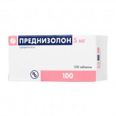 Преднизолон табл. 5 мг №100, Гедеон Рихтер А.О. / Гедеон Рихтер-РУС ЗАО
