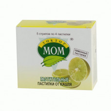 Доктор Мом паст. №20 лимон., Юник Фармасьютикал Лабораториз