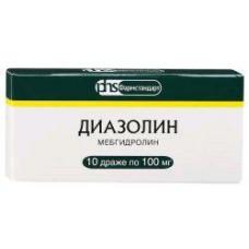 Диазолин др. 100 мг №10, Фармстандарт-Уфимский витаминный завод ОАО