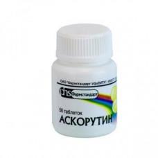 Аскорутин табл. №50, Фармстандарт-Уфимский витаминный завод ОАО