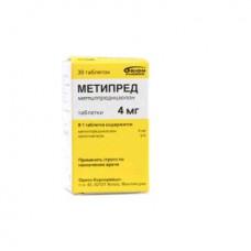 Метипред табл. 4 мг №30, Орион Корпорейшн