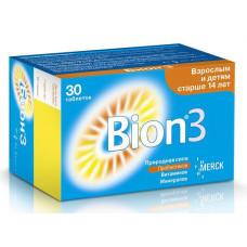 Бион 3 табл. 1050 мг №30, Д-р Редди`с Лабораторис Лтд, произведено Мерк