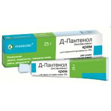 Д-Пантенол крем д/наружн. прим. 5% 25 г №1, Нижфарм, произведено Ядран Галенский Лабораторий АО