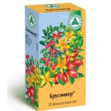 Бруснивер сбор растит. 2 г №20, Красногорсклексредства ОАО