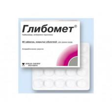 Глибомет табл. п/о 400 мг+2.5 мг №40, Берлин-Хеми АГ/Менарини Групп