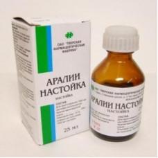 Аралии настойка 25 мл №1, Тверская фармфабрика АООТ