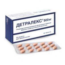 Детралекс табл. п/о 500 мг №60, Лаборатории Сервье Индастри/Сердикс ООО