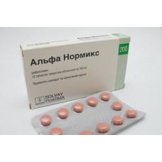 Альфа нормикс табл. п/о пленочной 200 мг №12, Альфа-Вассерманн С.п.А. / Альфасигма С.п.А.