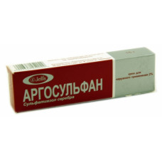 Аргосульфан крем д/наружн. прим. 2% 15 г №1, Ельфа фармзавод А.О.