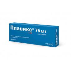 Плавикс табл. п/о пленочной 75 мг №28, Санофи-Винтроп Индастри