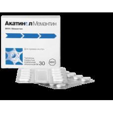 Акатинол Мемантин табл. п/о пленочной 10 мг №90, Мерц Ко ГмбХ и Ко
