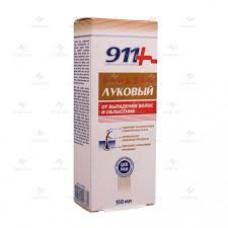 911 Ваша служба спасения Луковый от выпадения волос и облысения Бальзам для волос 150 мл, ТВИНС-ТЭК