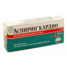 Аспирин кардио табл. п/о кишечнораств. 100 мг №28, Байер АГ