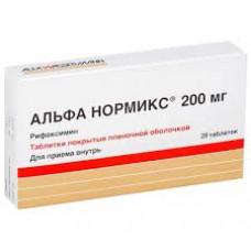 Альфа нормикс табл. п/о пленочной 200 мг №28, Альфа-Вассерманн С.п.А. / Альфасигма С.п.А.