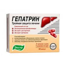 Гепатрин капс. 0.33 г №60, Эвалар ЗАО